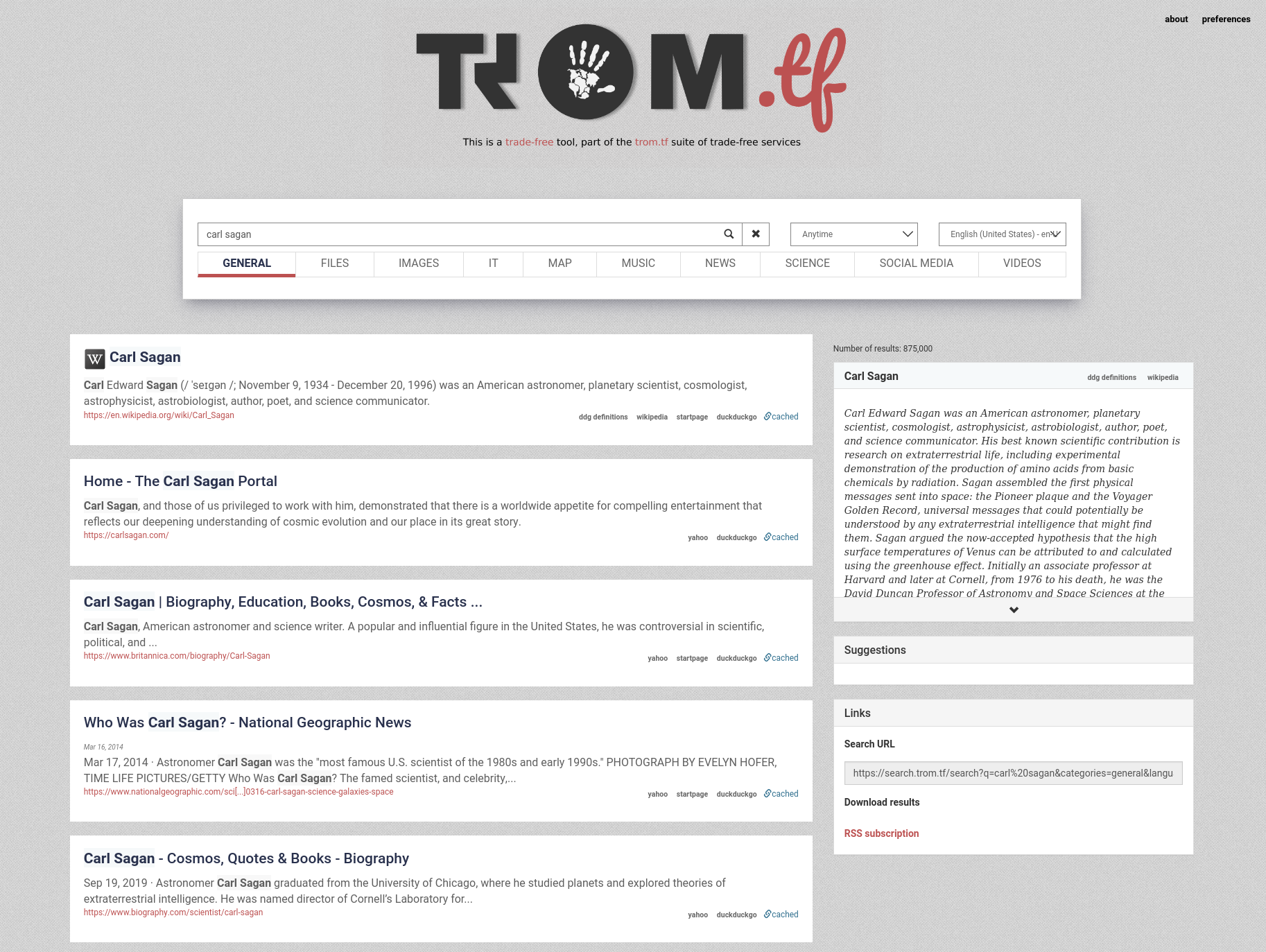 Screenshot_2021-03-08 carl sagan - search trom tf